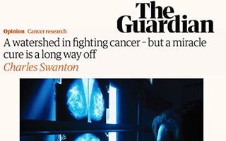 A watershed in fighting cancer – but a miracle cure is a long way off